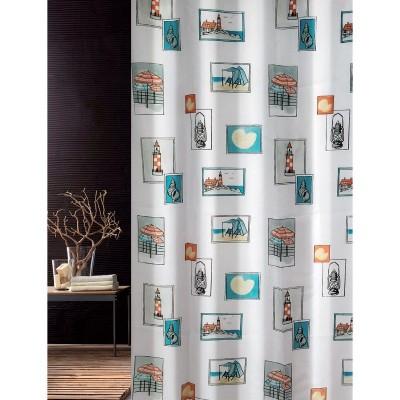 Κουρτίνα μπάνιου υφασμάτινη JOY Seaside 180x200